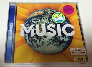 ★spontania『MUSIC』レンタル落ち★