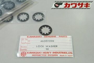 カワサキ A1 A7 キックストッパー・ロックワッシャー 1枚 絶版