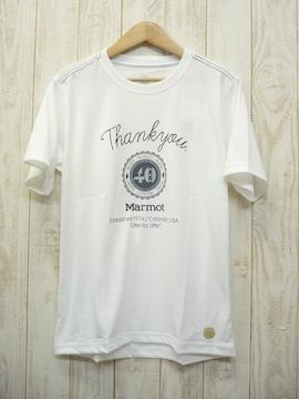 即決☆マーモット 40TH Anniversary Tシャツ WT/M 速乾 新品