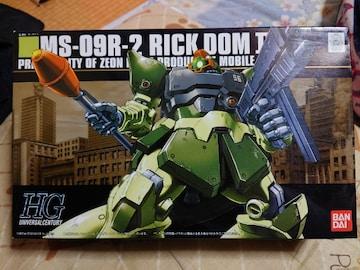 ガンダム0080 1/144 リック・ドム�U ライトグリーンバージョン