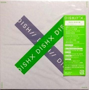 DISH//★X★完全生産限定盤 (CD+2DVD+ミニトートバッグ)★未開封