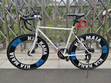 最終値下げ キャノンデール改 ロードバイク 700×28c