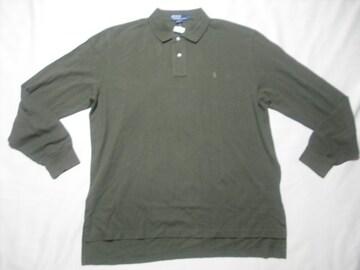 96 男 POLO RALPH LAUREN ラルフローレン 長袖ポロシャツ XL
