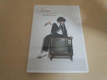 SE7EN DVD「Music Video Clips +and more」セブン 韓国K-POP●