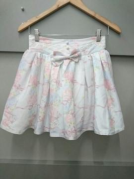 LIZ LISA☆お花リボン柄スカパン