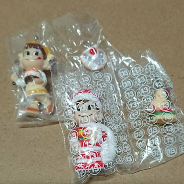 ペコちゃん&ポコちゃんマスコットセット 新品未使用