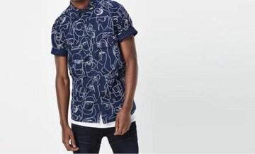 G-STAR RAW 半袖シャツ 総柄 サイズM