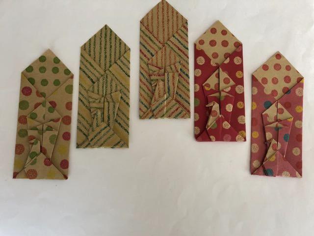 ハンドメイド 折り紙 箸袋&ポチ袋 おもてなし < ペット/手芸/園芸の