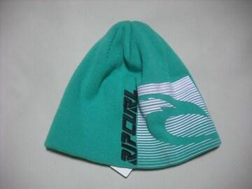 rc113 男 RIP CURL リップカール ニット帽 ビーニー 緑