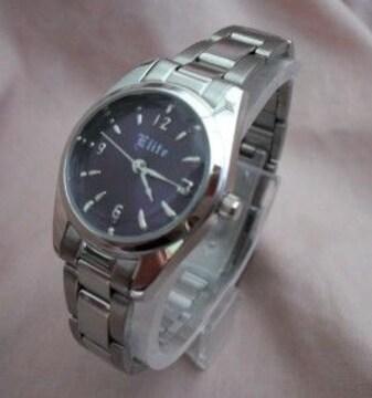 シンプルメタルウォッチPP-レディース腕時計