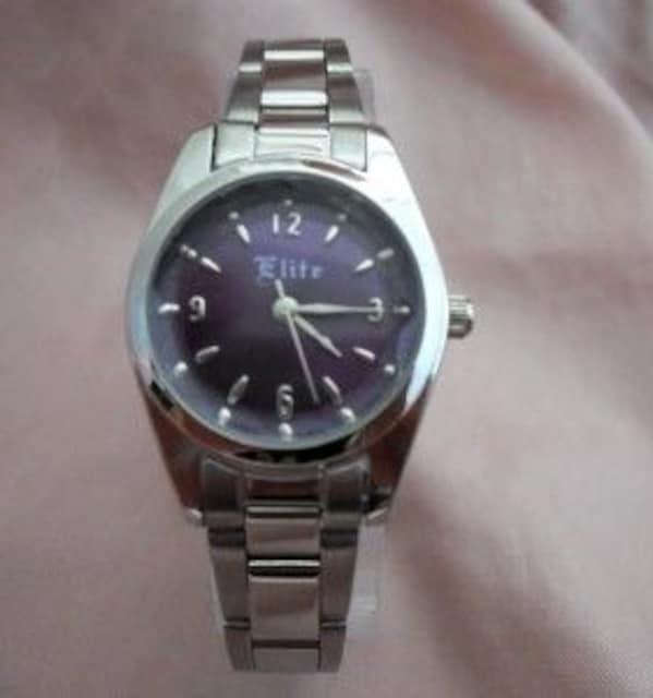 シンプルメタルウォッチPP-レディース腕時計 < 女性アクセサリー/時計の