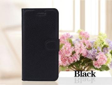iPhone6 iPhone6s 手帳型ケース フィルム カード 入れ ブラック
