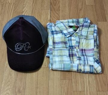 ☆RESISTANCE/レジスタンス 帽子、キャップ&半袖シャツ 2点セット