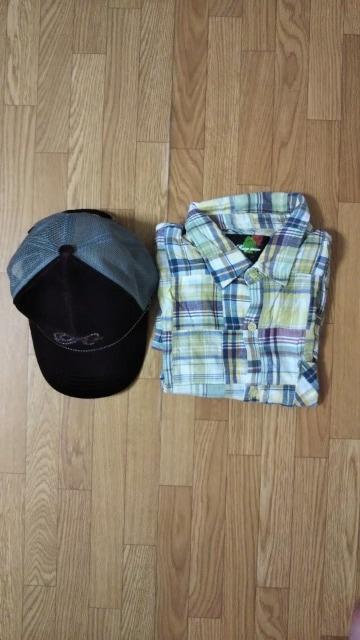 ☆RESISTANCE/レジスタンス 帽子、キャップ&半袖シャツ 2点セット < ブランドの