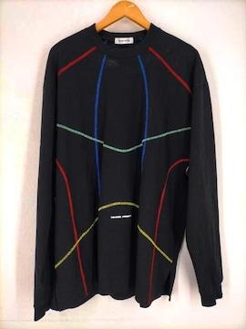 TENDER PERSON(テンダーパーソン)刺繍ロンT カットソークルーネックTシャツ