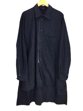 Y-3(ワイスリー)20SSクラフト グラフィック ロング シャツシャツジャケット