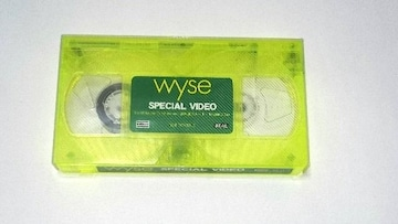 Wyse/SPECIAL VIDEO/ライカエジソン/非売品/VHS/V系/希少/限定