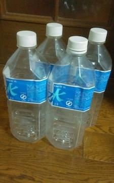 イオン 麦飯石おいしい水専用ボトル4本セット