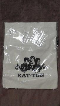 激安未使用美品KAT-TUN公式布製バッグメンバーイラスト入りオマケ