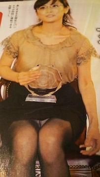 高島彩アナウンサーグラビア雑誌からの切り抜き