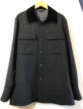 MUNSINGWEAR■ウールジャケット■マンシングウェア■灰黒