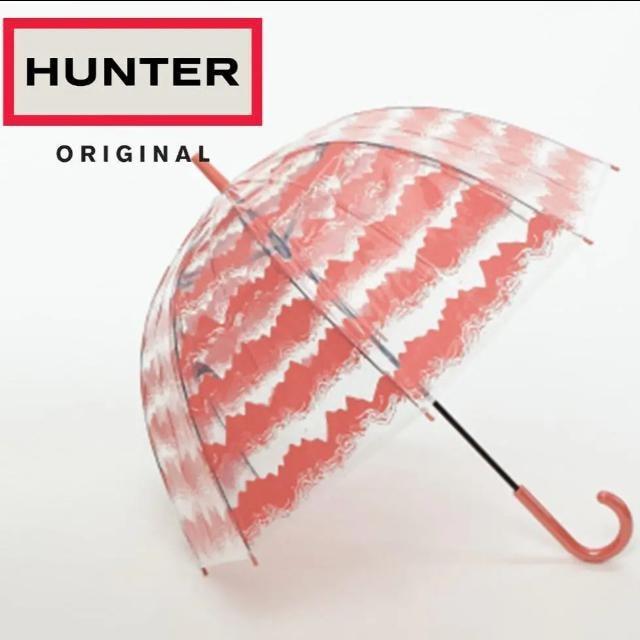 ハンター Hunter 傘 ORIGINAL PRINTED BUBBLE  < ブランドの