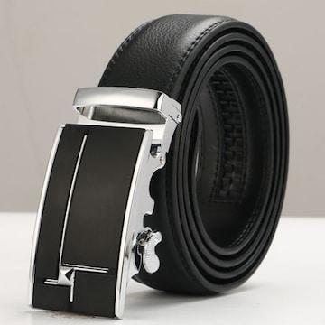 ベルト 本革 オートロック 高級ベルト 110cm〜125cm 630