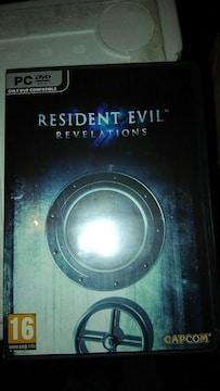 PC DVD ROM  RESIDENT EVIL  CAPCOM  ゲームソフト