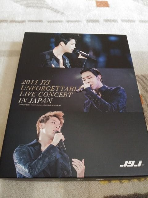 *☆JYJ☆UNFORGETTABLE LIVE CONCERT IN JAPAN 2011 DVD♪  < タレントグッズの