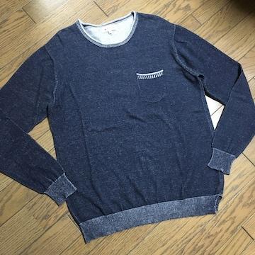 美品TAKEO KIKUCHI ポケット付き スウェット タケオ キクチ
