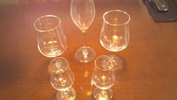 CAMUS COGNAC & georges duboeuf ワイングラスセット品