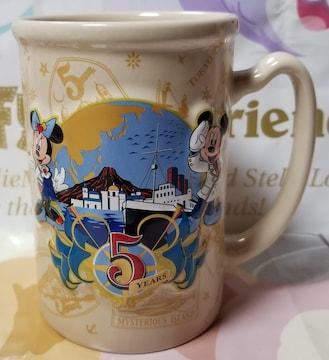 TDS☆ミッキー&ミニー【マグカップ】立体★5周年限定