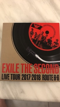 ★EXILE THE SECOND★ライブツアー2017-2018 ROUTE6-6★レコード