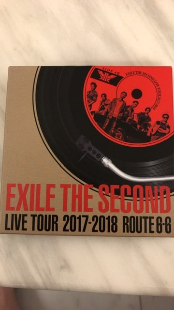 ★EXILE THE SECOND★ライブツアー2017-2018 ROUTE6-6★レコード  < タレントグッズの