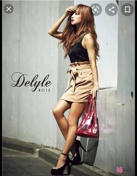 Delyle NOIR ベルト付きスカート(Sサイズ/CML)