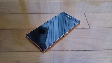即落/即発!!美中古品 SOV31 Xperia Z4 カッパー