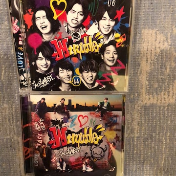 激レア!☆ジャニーズWEST/W trouble☆初回盤 B+通常盤☆美品☆