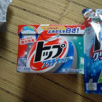 トップ 液体洗剤 詰め替え 2個 粉 2個
