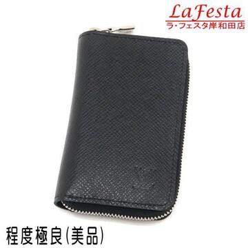 本物美品◆ヴィトン【人気】タイガ黒コインケースカードケース箱