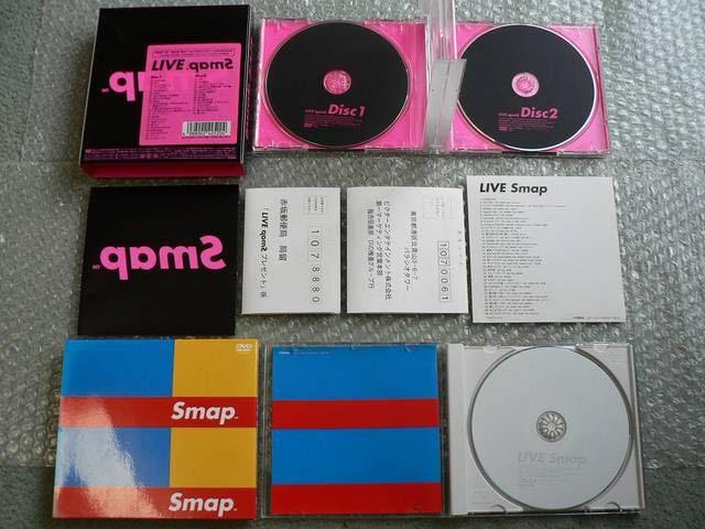 SMAP【LIVE Smap/pamS 裏スマ/2002/MIJ】DVD4枚set/他にも出品中 < タレントグッズの