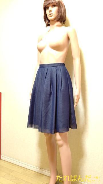 美品☆DOUBLE STANDRD☆シフォン重ねのスカートB290☆3点で即落 < 女性ファッションの