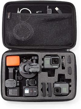 カメラケース(GoProカメラ用) キャリングケース Lサイズ