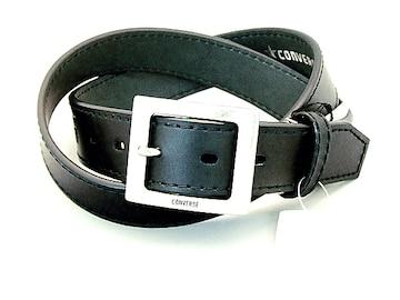 コンバース牛革ベルト黒  CONVERSE新品!