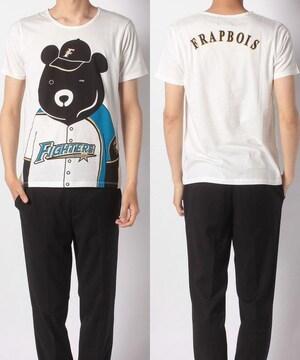 新品 フラボア FRAPBOIS パリーグTシャツ 2 白 日ハム 野球
