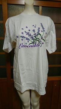 北海道 ラベンダーTシャツ L