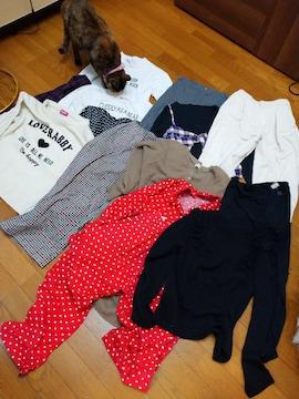 キッズ女子 衣類まとめ売り13着140〜160cm