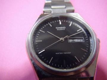 カシオの腕時計メンズ 電池式クォーツ製!。
