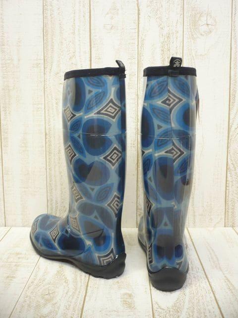 即決☆カミック TULIPE レインブーツ BLU/25cm カナダ製 長靴 < 女性ファッションの
