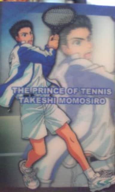 テニスの王子様 立体仕様ブロマイド桃城  < トレーディングカードの