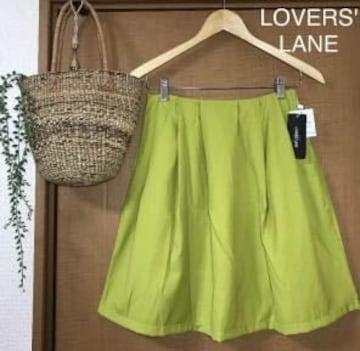 限定SALE●定価5,400円【新品】LOVER'S LANE●グリーンスカート